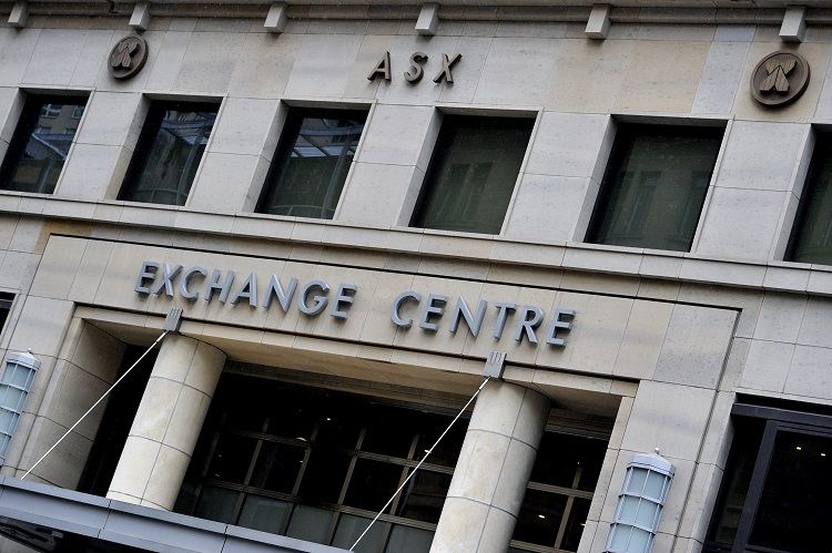 Signage at the Australian Securities Exchange in Sydney on Friday, Jan. 15, 2016. The Australian share market has opened higher, driven by resource and financial stocks after a strong performance on Wall Street as the US earnings season got off to a strong start. (AAP Image/Joel Carrett) NO ARCHIVING